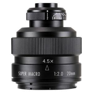 Zhongyi Mitakon 20mm f/2 4.5X Super Macro Lens for DSLR NIKON F D800 D850 D7500