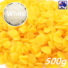 500g Yellow/White Beeswax Drops Pastilles Pellets  Beads SBEA544