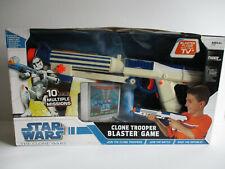 Star Wars The Clone Wars Clone Trooper Blaster Game Blaster Plugs in TV