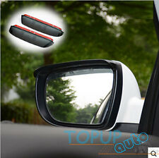 FIT FOR HYUNDAI IX35 TUCSON 2010-2014 SIDE DOOR MIRROR RAIN GUARD VISOR SHIELD