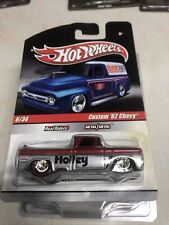 HOT WHEELS CUSTOM 1962 CHEVY REAL RIDER HOLLEY Pick Up R R