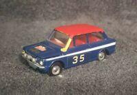 Vintage Dinky Diecast Car 214 Hillman Imp Rally Monte Carlo no 35