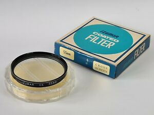 Vintage Izumar 55mm Cross Screen CS Filter Boxed With Keeper CAse, Excellent