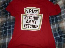Heinz Tomato Ketchup T Shirt No Size Tag See Description