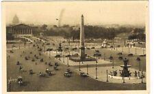CPA n&b Paris- Place de la Concorde