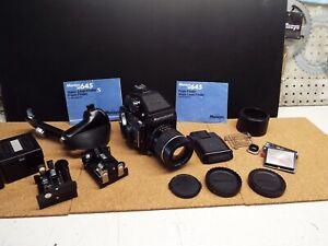 Mamiya m645 camera  , lot