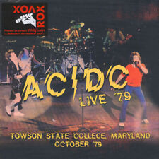 "AC/DC : Live '79 - Towson State College, Maryland October '79 VINYL 12"" Album 2"
