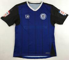 Rochdale AFC shirt jersey 2010/11 home blue Carbrini Footbal League patch boys