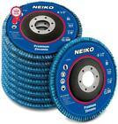 Premium Zirconia Flap Disc Industrial Grade Premium 40 Grit Resin Fiber 10 Packs