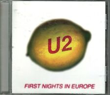 U2 First Night In Europe Cd Cologne 1997 Live Rotterdam Udue1 Rare Perfecto