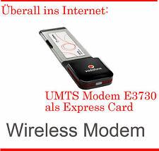 Umts Stick Modem Expresscard E3730 Simlock Free IBM Thin Pad T60 All Networks