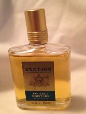 Stetson Cooling Moisture After Shave 3.4oz 100 ml ~ Barely Used