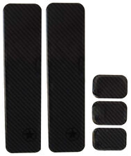 Bike Armor Monster Shield 5pc Downtube Protector Kit, Carbon