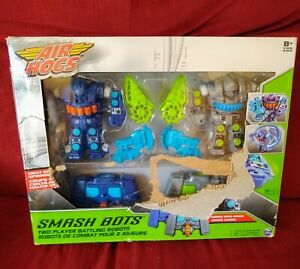 Spinmaster AIR HOGGS Smash Bots 2 Player Battling Robots 2015 Unused in Open Box