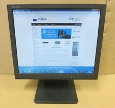 "Sharp LL-T17A4-B 17"" Inch Black LCD TFT Monitor VGA With Built-In Speakers"