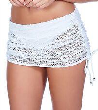 Bas maillot de bain Freya SUNDANCE blanc slip jupette taille M ou 40