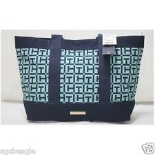 Tommy Hilfiger 6928501 423 Signature Tote Navy Green Agsbeagle