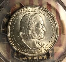 1893 COLUMBIAN COMMEMORATIVE SILVER HALF DOLLAR PCGS MS 64 COLLECTOR COIN