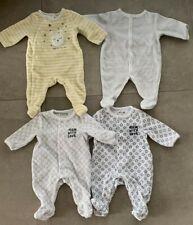 Lot de 4 Pyjamas Bébé Garçon + 2 Bodies Absorba 1 mois / 53-54cm Super Etat