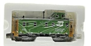 Vintage MTH Premier Extended Vision BN Illuminated Caboose in Original Box