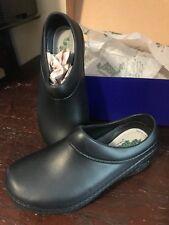 Landau Foot Wear X- Woman's Black Occupational-Nurse- Comfort Shoes/Clogs- Black