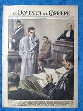 La Domenica del Corriere 27 marzo 1955 Fausto Coppi - J.Ferrazzi - Duomo Milano