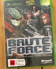 XBox Original Game Brute Force 🇦🇺🇦🇺Cheap game 🕹Game Over Australia 🕹