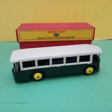 Modellino DIE CAST Dinky Toys Autobus Renault TN 4 H Parisien 29D ATLAS 1/43