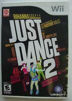 JUST DANCE 2 NINTENDO WII GAME  *