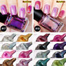 Rainbow Shinning Mirror Effect Metallic Varnish Holographic Nail Polish 6ml