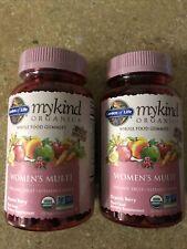 Garden Of Life Mykind Organics Women's Multi Vitamin 240 Chews Exp 09/2022