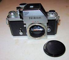 Nikon F Photomic FTN 35mm SLR Film Camera Body chrome Working Fine