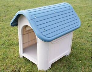 PET LIVING INDOOR OUTDOOR GARDEN PET STRONG DOG ANIMAL SHELTER PLASTIC KENNEL