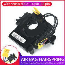 For Chrysler Dodge Jeep Airbag Steering Wheel Clock Spring 5156106AF With Sensor