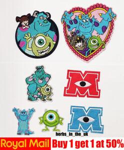 Disney Monsters Inc University Patch Badge Monsters University ( 7 styles )
