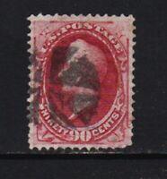 U.S. #191 used, cat. $ 350.00
