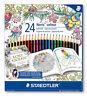 STAEDTLER Farbstifte Noris colour 24er-Box Johanna Basford Design 185 C24JB
