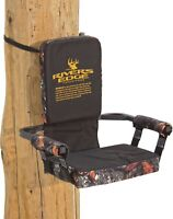 Rivers Edge Lounger Tree Seat Steel Frame  3 Inches Foam Padded Camo Seat NEW