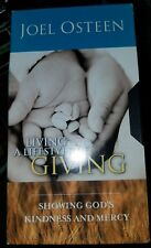 Living A Life Of Giving by Joel Osteen [VHS] Showing God's Kindness and Mercy