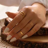 Ringset:10 Midi Ringe Fingerring Fingerspitzenring Knöchelring Gold Boho Punk