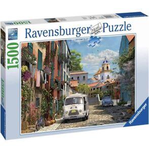 Ravensburger IDYLLIC SOUTH OF FRANCE Jigsaw Puzzle -1500 pc - FREE UK P&P