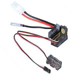 320A ESC Brushed Electric Motor Speed Controller For RC Boat Car Model UK
