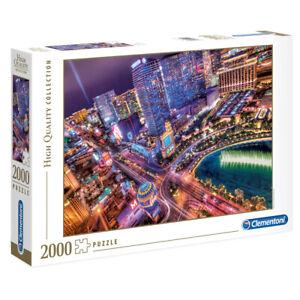 Clementoni Jigsaw Puzzle High Quality Collection Las Vegas 2000 Piece 97x66cm