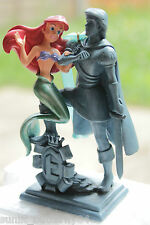 DISNEY MERMAID ARIEL ERIC estatua Navidad LITTLE Decoración Ornamento Rara!