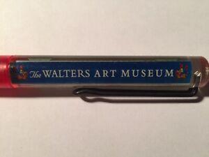 Walters Art Museum Floaty Floating Pen Baltimore Souvenir Promo Knight Castle