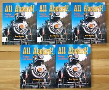 Lot 5 ALL ABOARD! Guided Reading Social Studies Level R Rigby VGC L15
