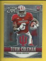Tevin Coleman RC 2015 Prizm Draft Picks Rookie Card # 145 Atlanta Falcons RB
