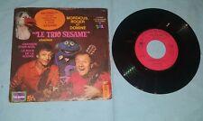 Le trio sesame chanson pour Noel le rock de la souris 1979 France press 45 giri