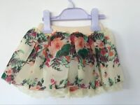 New Kids Girls Floral Lace layered tutu skirt /Party /Dance