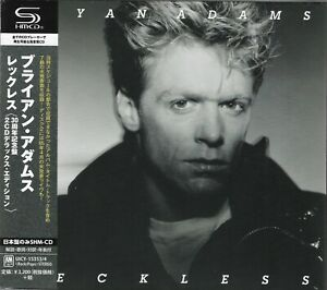 BRYAN ADAMS RECKLESS JAPAN 2014 DELUXE ANNIVERSARY EDT RMST SHM 2CD - BRAND NEW!